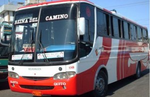 How To Get To Canoa From Quito Ecuador By Bus With Reina del Camino